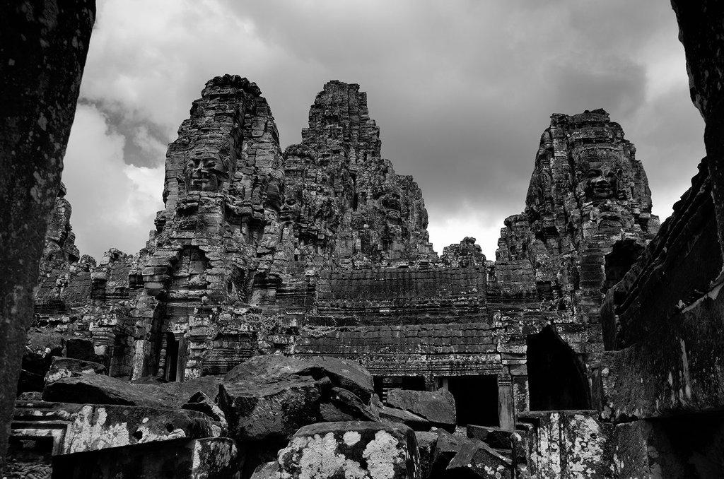 Die Türme von Angkor